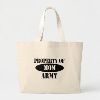 Property of Army Mom Bag