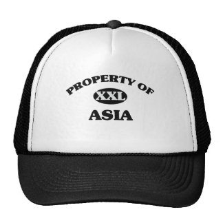 Property of ASIA Hat