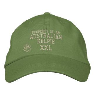 Property of Australian Kelpie Embroidered Hat