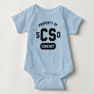"""Property of"" baby one-piece Baby Bodysuit"