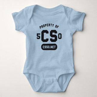 """Property of"" baby one-piece Baby Bodysuit"