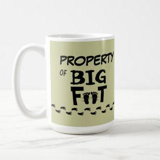 PROPERTY OF BIG FOOT mug