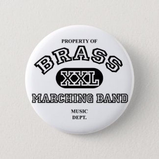 Property of Brass 2 Inch Round Button