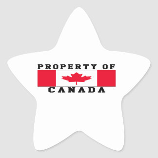 Property Of Canada Sticker