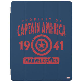 Property Of Captain America iPad Cover