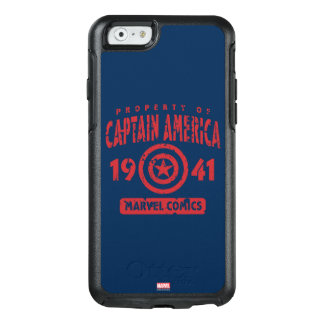 Property Of Captain America OtterBox iPhone 6/6s Case