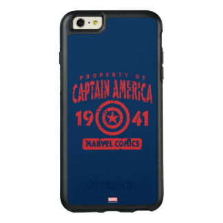 Property Of Captain America OtterBox iPhone 6/6s Plus Case