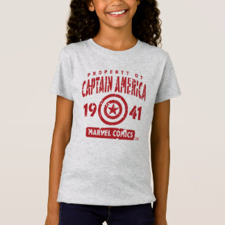 Property Of Captain America Shirts