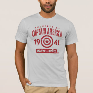 Property Of Captain America T-Shirt