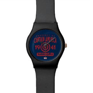 Property Of Captain America Wristwatch
