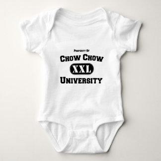 Property of Chow Chow University Baby Bodysuit