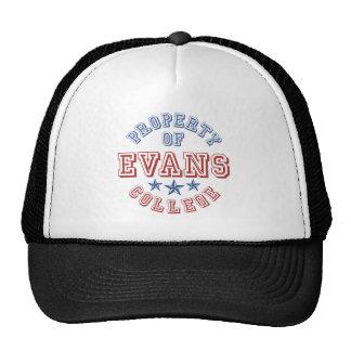 Property Of College Evans Trucker Hat