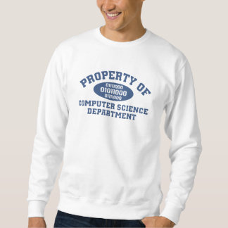Property Of Computer Science Department Sweatshirt