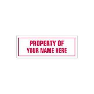 Property Of custom stamp