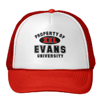 Property of Evans University Trucker Hat