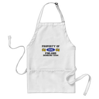 Property of Finland Drinking Team Standard Apron