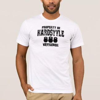 Property of Hardstyle Kettlebell T-Shirt