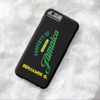Property of Jamaica Barely There iPhone 6 Case