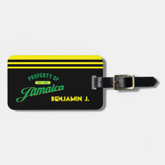 Property of Jamaica Luggage Tag