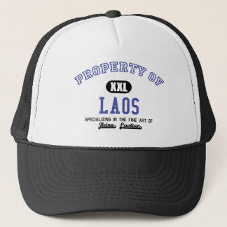 Property of Laos Trucker Hat