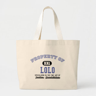 Property of Lolo Canvas Bags