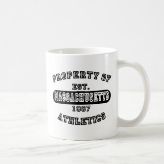 Property of Massachusetts shirts Mugs