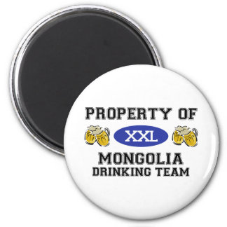 Property of Mongolia Drinking Team Magnet