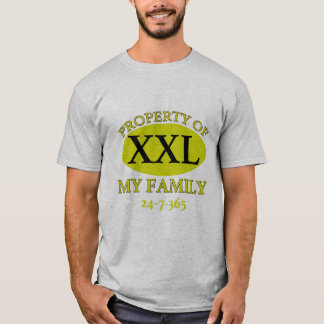 Property of My Family T-Shirt