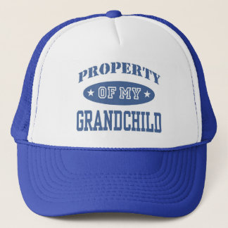 Property of My Grandchild Trucker Hat