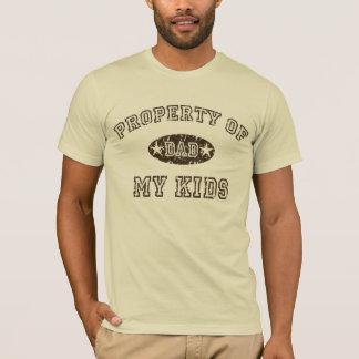 Property of My Kids t-shirt