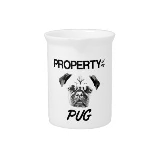 Property of my Pug Pitcher