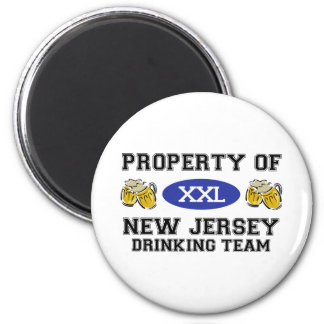Property of New Jersey Drinking Team Magnet