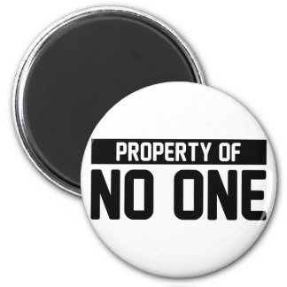 Property of No One Magnet