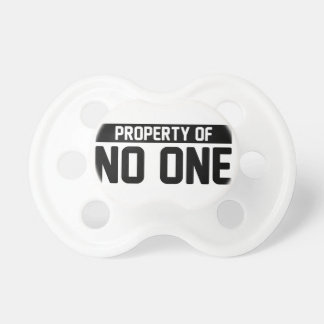 Property of No One Pacifier