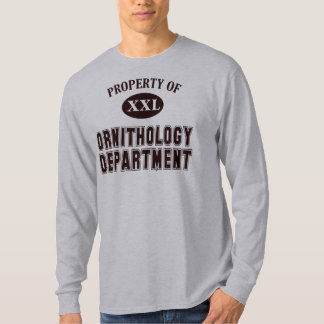 Property of Ornithology Department T-Shirt