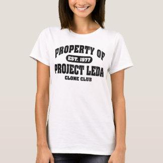 Property Of Project Leda (Black) T-Shirt