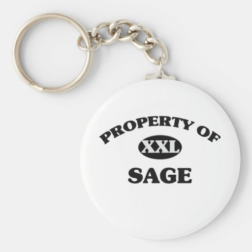 Property of SAGE Key Chains