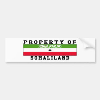 Property Of Somaliland Bumper Sticker
