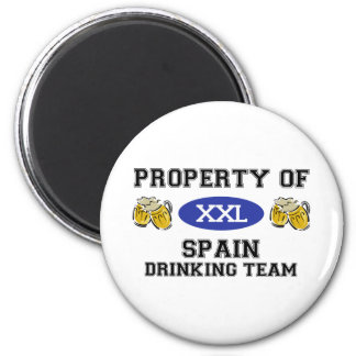 Property of Spain Drinking Team Magnet
