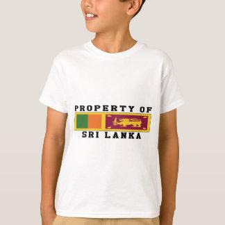 Property Of Sri Lanka T-Shirt