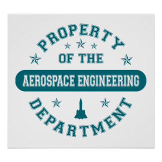 Property of the Aerospace Engineering Department Poster