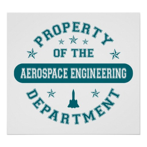 Property of the Aerospace Engineering Department Posters