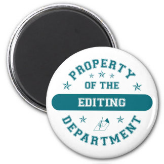 Property of the Editing Department Magnet