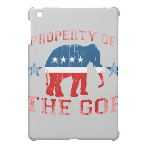 PROPERTY OF THE GOP Faded.png Case For The iPad Mini