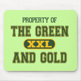 Property of The Green and Gold1 Mouse Pads