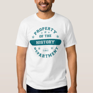 Property of the History Department Tee Shirt