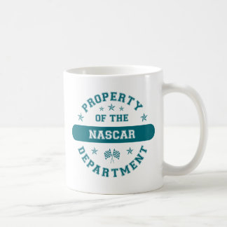 Property of the NASCAR Department Coffee Mug