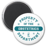 Property of the Obstetrics Department Fridge Magnets