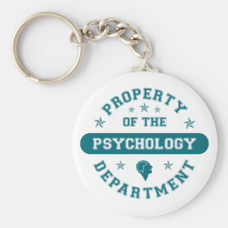 Property of the Psychology Department Keychain