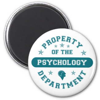 Property of the Psychology Department Magnet